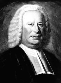 Not to be confused with England's famous Dr. Johnson, this Samuel Johnson was rector of Stratford, Connecticut before becoming first president of King's College (now Columbia University), New York. Johnson and his colleagues were  Anglican pioneers in New England, which was overwhelmingly Congregationalist.
