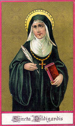 At a time when few women wrote, Hildegard produced major works of theology and visionary writings. When few women were respected, she was consulted by and advised bishops, popes, and kings. She used the curative powers of natural objects for healing, and wrote treatises about natural history and the medicinal uses of plants, animals, trees and stones. She is the first musical composer whose biography is known.