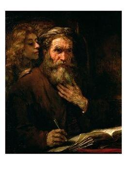 Rembrandt van Rijn, c. 1655-60: St. Matthew and the Angel