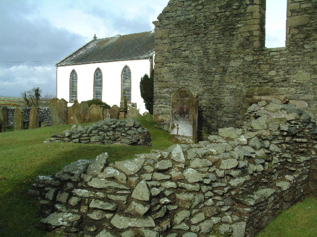 """Excavated remains of St. Ninian's chapel at Whithorn, Scotland, the """"little white house"""" which was his base of operations. He dedicated it to his mentor, St. Martin of Tours, who laid down a model for a missionary bishop-monk."""