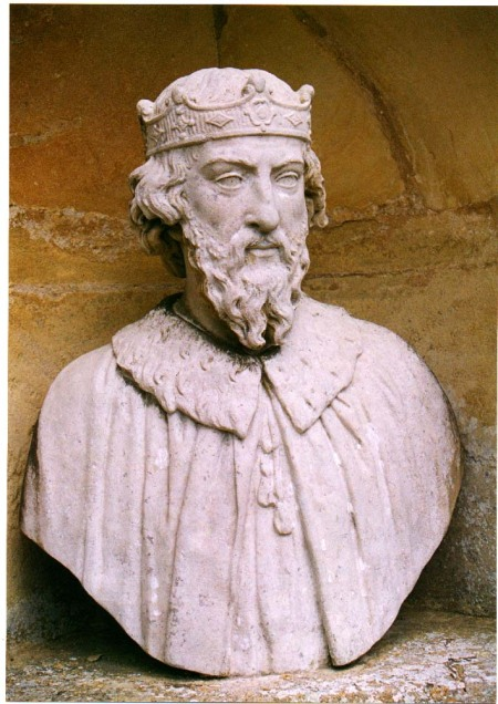 Alfred was king during the Viking invasions of England, which he successfully resisted. After a decisive battle at Edington in 878, he persuaded his foe to accept baptism. Alfred studied the Scriptures in his effort to reform the justice system, instituting trial by jury, and encouraged the translation of books into English to further the cause of education. (source unknown)