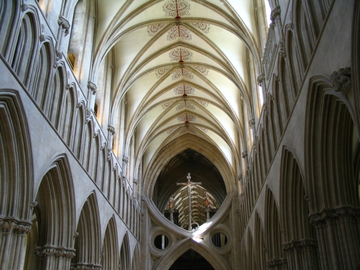 Wells Cathedral (Public domain)