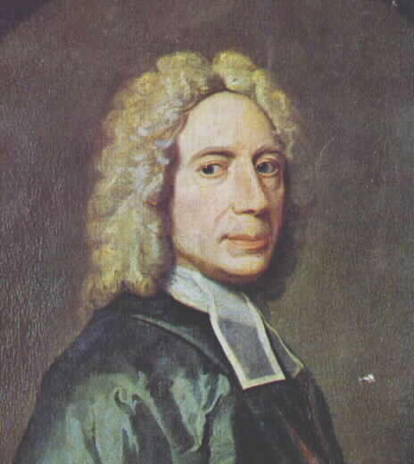 """Isaac Watts, a Nonconformist, is the father of English hymnody. """"O God, Our Help in Ages Past"""" - """"Joy to the World"""" - """"When I Survey the Wondrous Cross"""" - English speakers have sung him all our lives. His prolific output was both immensely popular and controversial to church authorities, because he didn't adhere to the Calvinist dictum that the only acceptable music in church was metrical psalms. He defended himself by quoting St. Paul, who recommended singing """"psalms, hymns and spiritual songs."""" His hymns largely focus on individual, often emotional experience, rather than a shared response of the Christian community."""