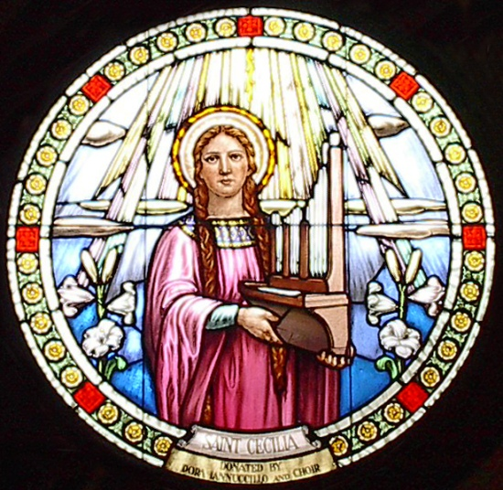 Cecilia is the patron saint of singers, organ builders, musicians and poets. She is remembered for the passion with which she sang the praises of God.