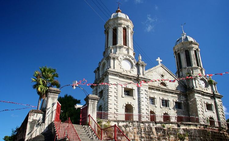 St. John's Cathedral, Antigua, West Indies