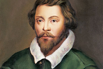 William Byrd, a student of Tallis, was like him a Roman Catholic who enjoyed the favor of Queen Elizabeth I. He is renowned for his motets, anthems, psalm settings and masses.