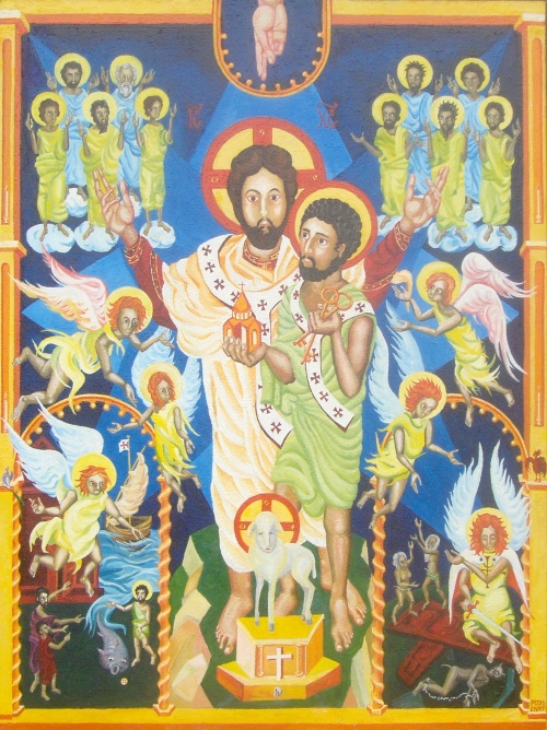 Alexey Pismenny, 2009-11: Confession of St. Peter, that Jesus Christ is Lord.