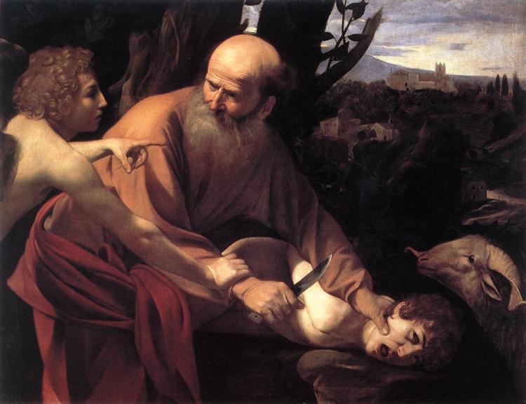 Caravaggio: The Sacrifice of Isaac