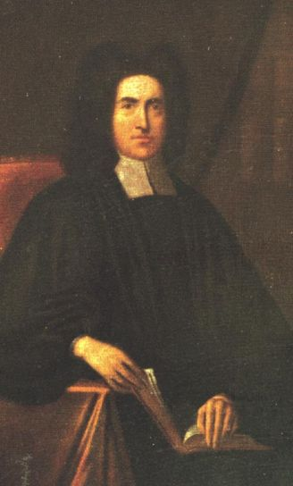 Thomas Bray, an English country parson, visited Anglicans in the Maryland colony once and took a lasting interest in the Church in the American colonies, but his greatest influence was his founding two major missionary societies, for Promoting Christian Knowledge and for Propagation of the Gospel in Foreign Parts, both still in existence and successful all over the world. (artist unknown)