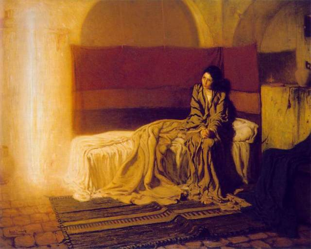 Henry Ossawa Tanner: Annunciation
