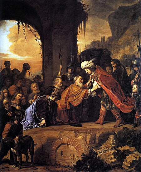 Salomon de Bray: Joseph Receives His Father and Brothers in Egypt