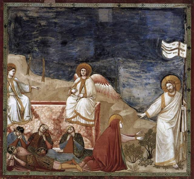 Giotto di Bondone: Resurrection
