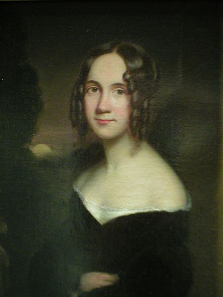 James Reid Lambdin, 1831: Sarah Josepha Hale. She used her editorial position with the leading women's magazine of the day to advocate for women's equality in education, and persuaded President Abraham Lincoln to make Thanksgiving Day a U.S. national holiday, celebrated every November.