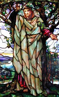 Louis Comfort Tiffany: Sermon on the Mount