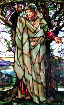Louis Comfort Tiffany: Sermon on the Mount (source unknown)