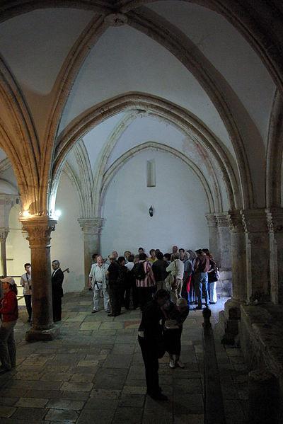 "The Cenacle on Mt. Zion in Jerusalem, reputed to be the ""upper room"" and site of the Last Supper, and the coming of the Holy Spirit at Pentecost."