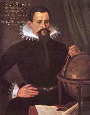 Johannes Kepler, the German mathematician and astronomer. He and Copernicus laid the groundwork for modern astronomy, and testified to the extraordinary presence of God in creation. Kepler taught that science can lead us more deeply into an understanding of the workings of the Creator and that God created the world by an intelligible plan accessible to human reason.