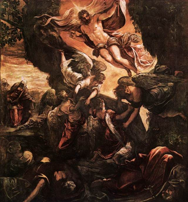 Tintoretto: Resurrection of Jesus