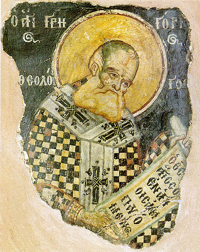 """Among the Fathers of the Church, Gregory alone is known as """"the Divine."""" He was a principal architect of the doctrine of the Trinity, in opposition to those who claimed that the Son was inferior to the Father."""