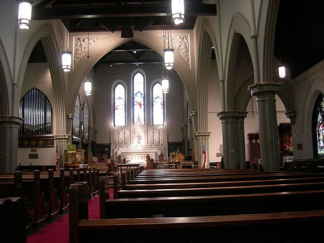 Trinity Church, Seattle, Washington.