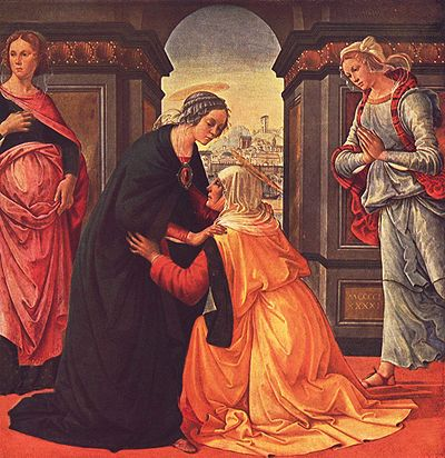 Domenico Ghirlandaio: Visitation