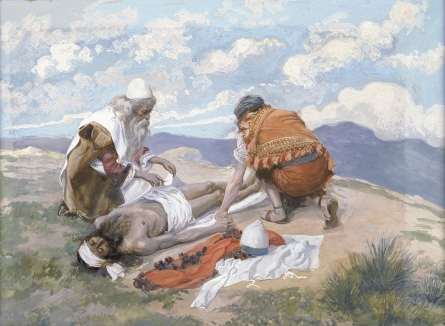 James Tissot: The Death of Aaron (Jewish Museum of New York)