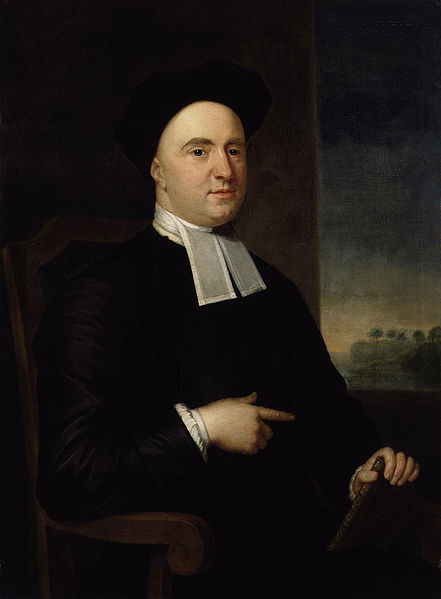 George Berkeley was an Irish priest who came to the American colonies, hoping to start a college in Bermuda. That didn't happen, so he gave his Rhode Island estate and library to Yale College and returned to Eire, where he became Bishop of Cloyne. Yale used the money and books to start Berkeley College and the Berkeley Divinity School.; Berkeley, California is also named for him. He was a philosopher of immaterialism - we can only directly know what our senses perceive.