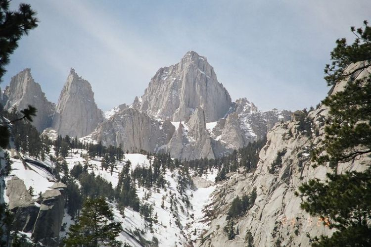 """Mount Whitney, California, is the tallest peak in the """"lower 48"""" of the United States."""