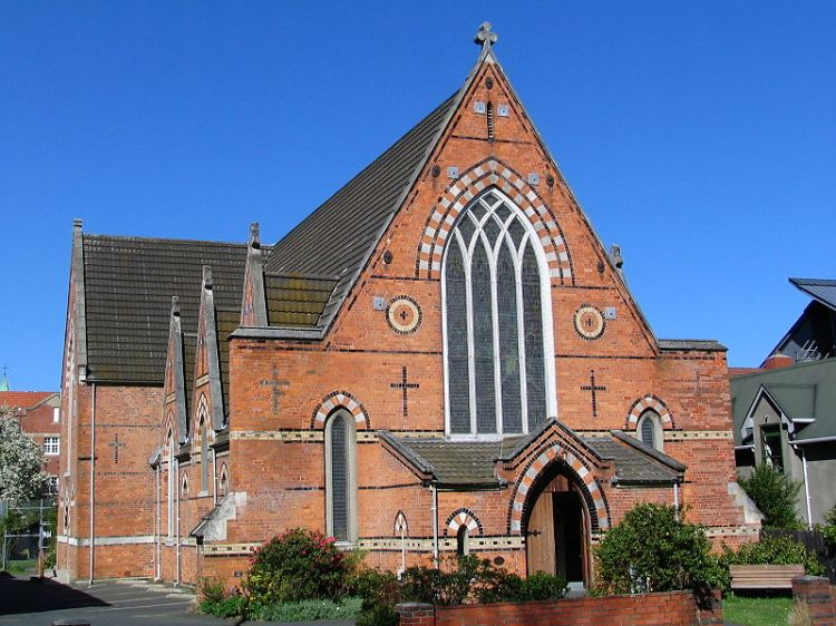 All Saints, Dunedin, NZ, is the oldest church in town.