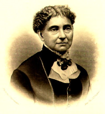 """Amelia Bloomer, best known for women's dress reform, was active in the temperance, abolitionist and women's rights movements all her life, because she was a disciple of Jesus Christ. Male clergy attacked her from the pulpit for wearing Turkish trousers, based on an Old Testament verse. She fired back, """"It matters not what Moses had to say to the men and women of his time about what they should wear. If clergy really cared about what Moses said about clothes, they would all put fringes and blue ribbons on their garments."""""""