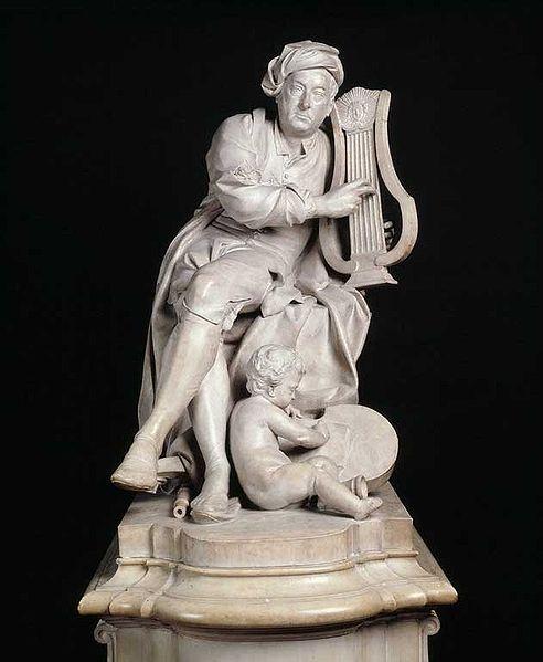 Louis-Francois Roubilliac: George Frederick Handel (Victoria and Albert Museum, London)
