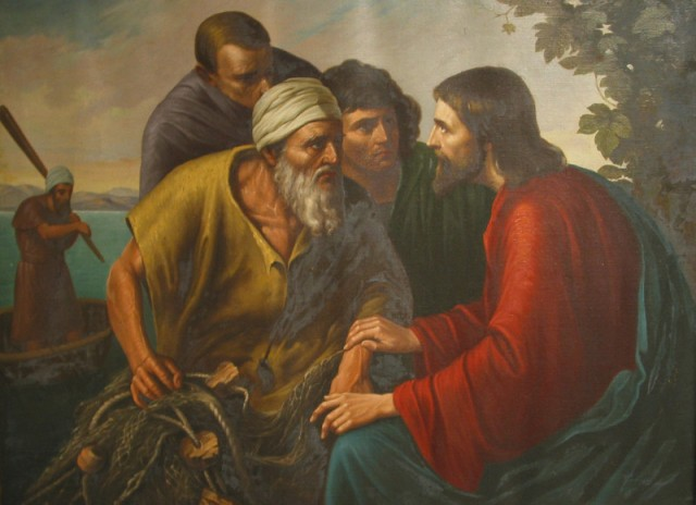 """Sr. Gregory Ems, OSB: Jesus, James and John. Most of the depictions of St. John show him in his role as a Gospel writer. But his authority derives from being a member of Christ's inner circle, along with his brother James. In many of the famous episodes in Jesus's ministry, they were the three amigos. This also lends credence to the idea that John was """"the disciple Jesus loved."""""""