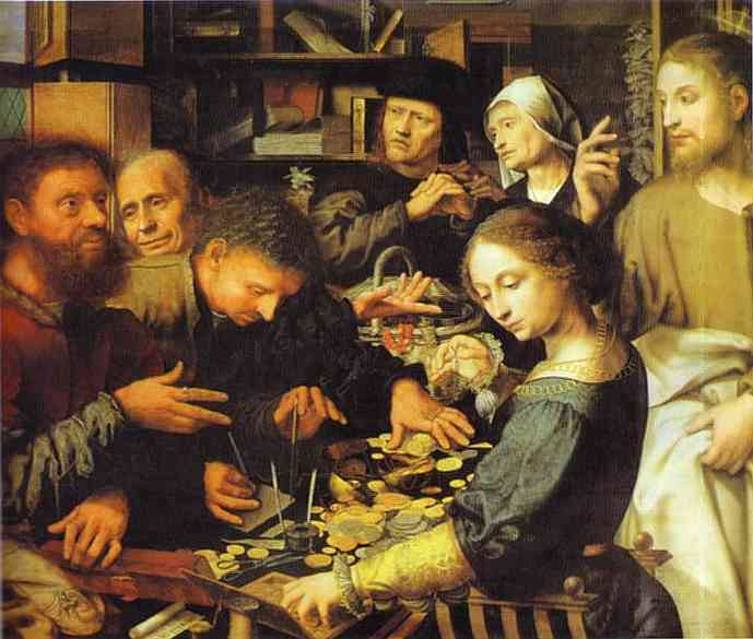 Jan Sanders Hemessen: Jesus Summons Matthew
