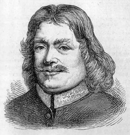 "John Bunyan, author of ""The Pilgrim's Progress,"" was a soldier who fought for Parliament in the English Civil War; later he became a Baptist preacher. After the Restoration of the monarchy, Charles II made attendance at Anglican services compulsory and imprisoned anyone who preached without Anglican orders. Bunyan was locked up in Bedford for 12 years and there began to write his allegorical tale, one of the most influential books of the century."