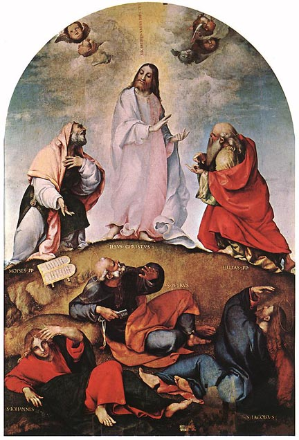 Lorenzo Lotto, c. 1510: Transfiguration