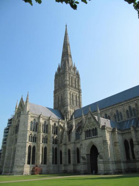 Salisbury Cathedral (source unknown)