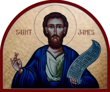 "St. James's most lasting contribution, perhaps, to the development of the Christian faith was his helping to settle the circumcision controversy that threatened to split the early Church into Jewish and Greek factions. ""My judgment is that we should impose no irksome restrictions on those Gentiles who are turning to God."" (Acts 15:19)"