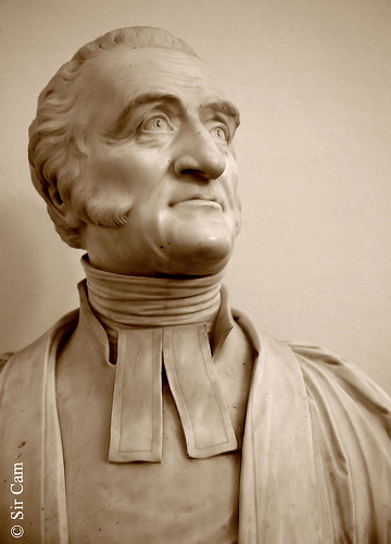Charles Simeon, rector of Holy Trinity, Cambridge, England, became the leader of the Evangelical movement in the Church of England and helped found the Church Missionary Society, which sent some of its early workers to Australia, China, India, New Zealand and Tanzania. His sermons were unfailingly Biblical, simple and passionate - though at first his preaching was so unpopular he was reviled in the streets.
