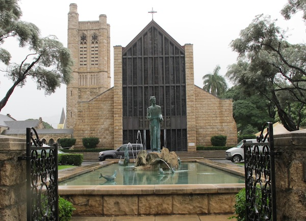 St. Andrew's Cathedral, Honolulu. Among many good works for which they are deeply revered, Kamehameha and Emma brought the Church of England to Hawai'i, believing that the stately beauty of its liturgy was attuned to the gentle spirit of the People. The king and queen built this cathedral. Only two other married couples are honored as saints in The Episcopal Church: Bertha and Ethelred, Queen and King of Kent, and the Parents of the Blessed Virgin Mary.