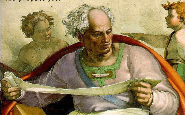 Michelangelo: The Prophet Joel (Sistine Chapel)