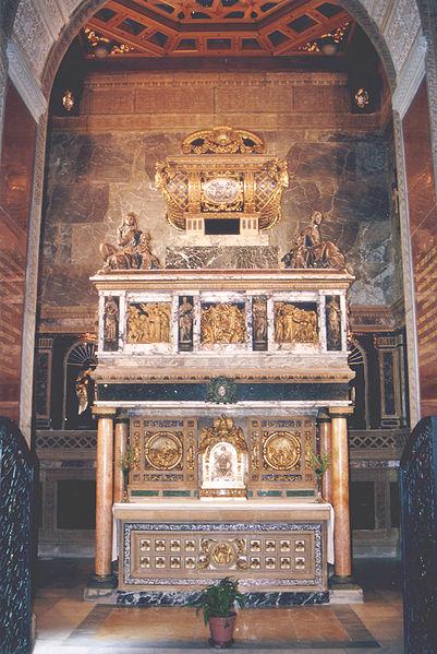 St. John of the Cross shrine and reliquary in Segovia, Spain.