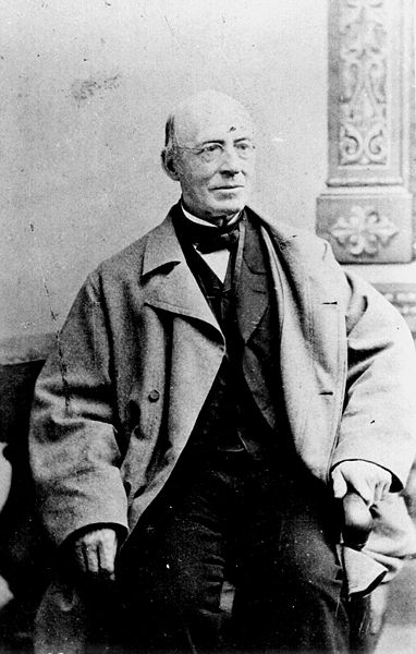 William Lloyd Garrison's newspaper The Liberator became the dominant voice in the U.S. anti-slavery movement, demanding emancipation without payment to the slave owners. In 1835 he was jailed to keep an angry mob from attacking him.