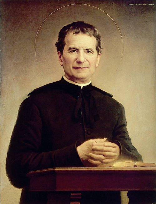 Fr. Bosco had a remarkable ministry among children in 19th century Italy. He started as a chaplain at a school for rich little girls, but soon added ragamuffin boys every Sunday - and got fired. He opened an orphanage and founded the Order of St. Francis de Sales, which grew to include women religious, lay brothers and dedicated laypeople.