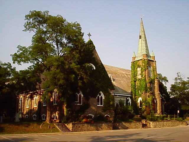 St. Peter's, Erindale, Mississauga, Ontario, a village that's now a suburb of Toronto.