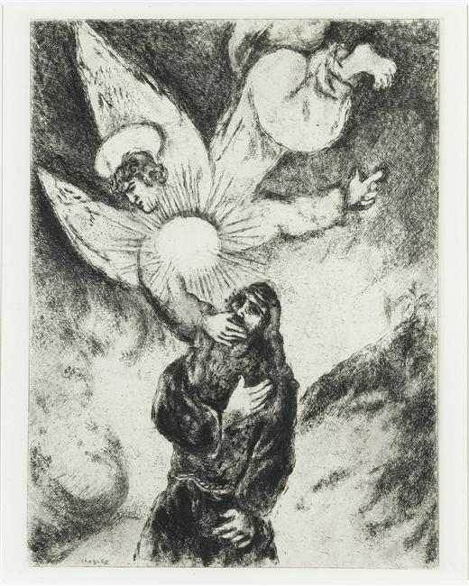 Marc Chagall: Jeremiah Receiving the Gift of Prophecy