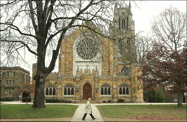 Bishop Quintard is probably best remembered today for rebuilding Sewanee, the University of the South, which is owned by 28 Southern dioceses, including Tennessee, where it's located.