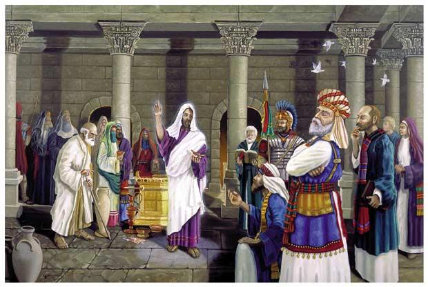 Lynn Morgan: Jesus Teaching in the Temple