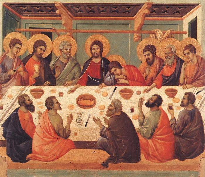 Duccio di Buoninsegna: Last Supper