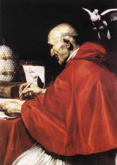 Gregory the Great did not create the Gregorian chanting style, but it did arise from his systematic liturgical reforms - just one of the achievements that earned him the title of Great. (artist unknown)
