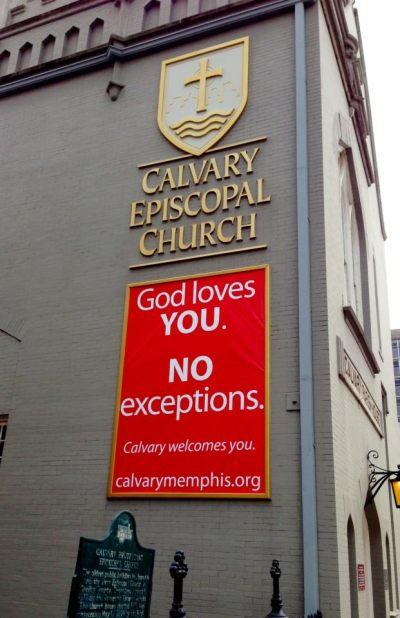 Calvary Church, Memphis, Tennessee (John Montreville Denton)